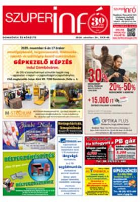 Dombóvári Szuperinfó 2020. 44. szám