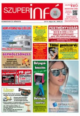 Dombóvári Szuperinfó 2019. 22. szám