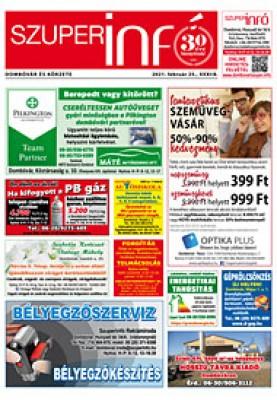 Dombóvári Szuperinfó 2021. 08. szám