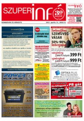 Dombóvári Szuperinfó 2021. 15. szám