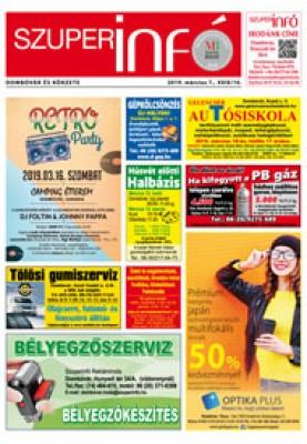 Dombóvári Szuperinfó 2019. 10. szám