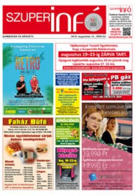 Dombóvári Szuperinfó 2019. 33. szám