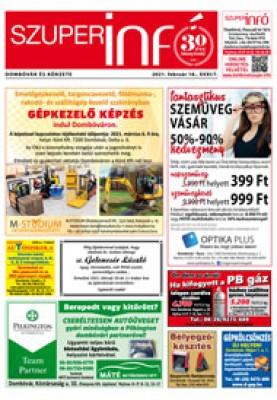 Dombóvári Szuperinfó 2021. 07. szám