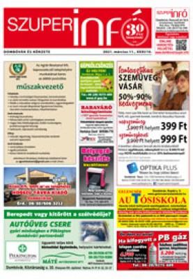 Dombóvári Szuperinfó 2021. 10. szám