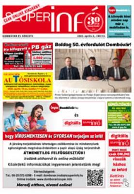 Digitális Szuperinfó Dombóvár és Körzete 2020. 14. szám