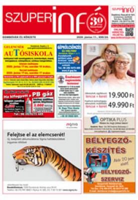 Dombóvári Szuperinfó 2020. 24. szám