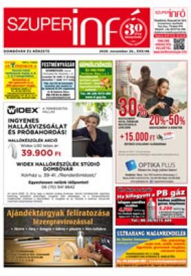 Dombóvári Szuperinfó 2020. 48. szám