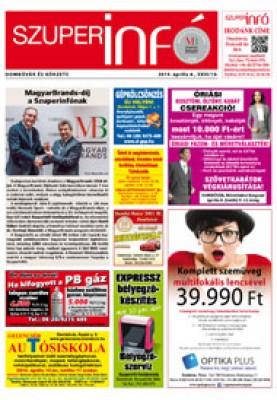Dombóvári Szuperinfó 2019. 14. szám